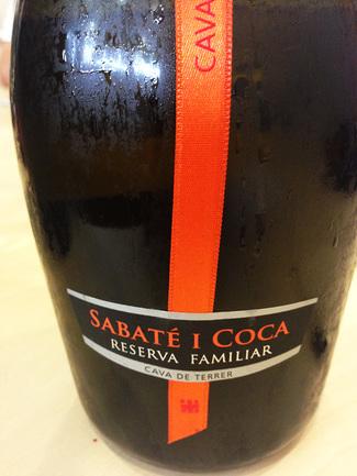 Sabaté i Coca Reserva Familiar 2008