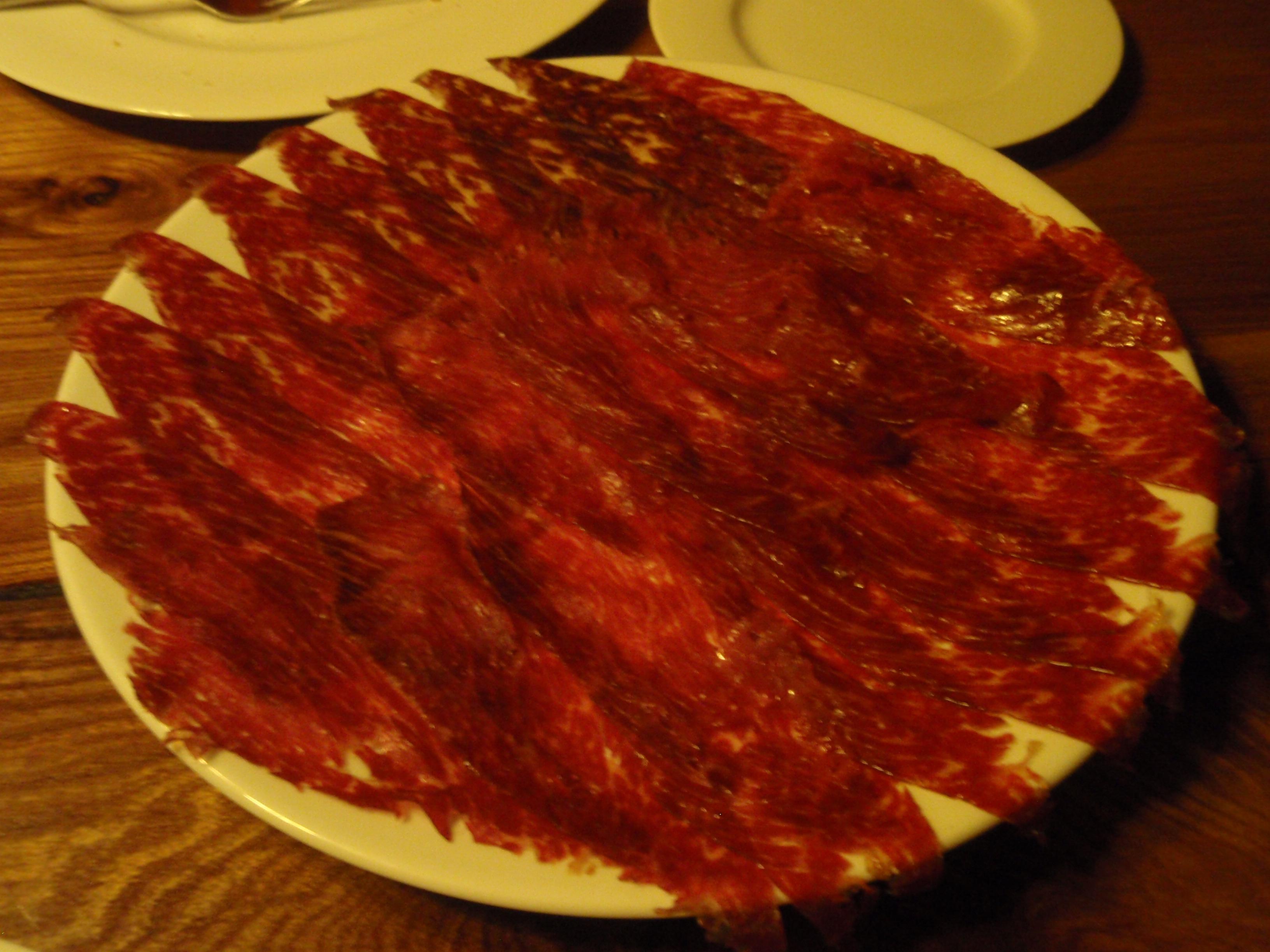 Restaurante Bodega Asador El Capricho Cecina de buey Premium
