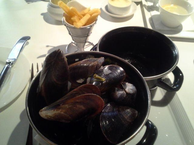 Atelier Belge Restaurant en Madrid mejillones