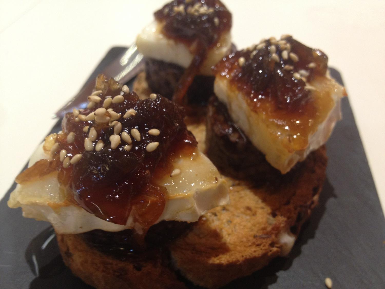 Bar Tonyina Tosta de queso de cabra