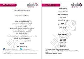 Restaurante Mulandhara (CERRADO) en Valencia