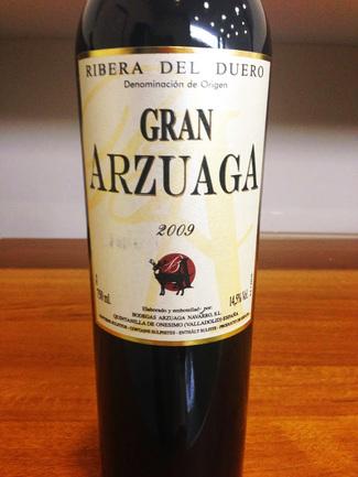 Gran Arzuaga 2009
