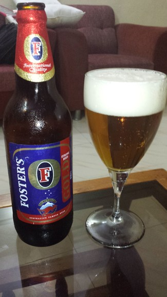 Cerveza Foster's Gold Strong
