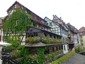Restaurante Au Pont Saint Martin en Estrasburgo