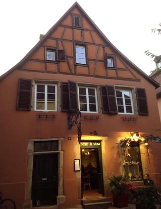 Restaurante L'Un des Sens en Colmar - Alsacia