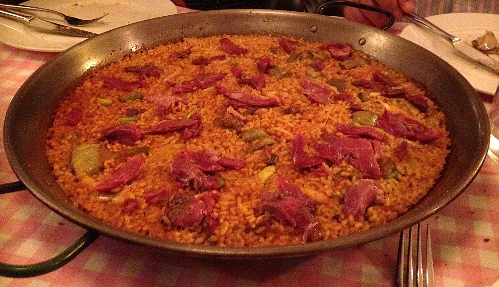 Restaurante La Bomba Bistrot No quedó un grano.