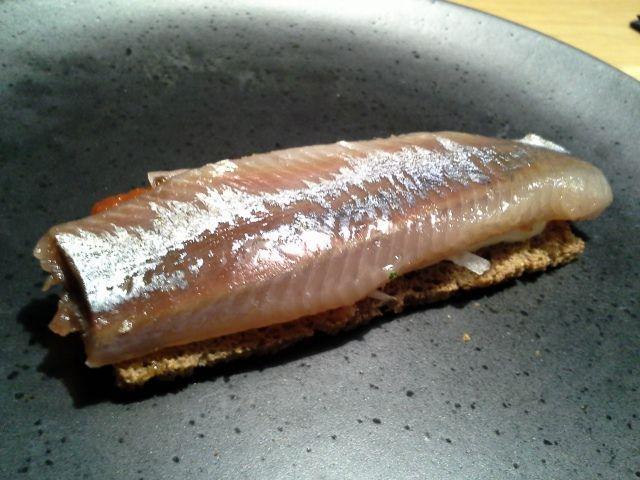 Restaurante Alabaster sardina ahumada