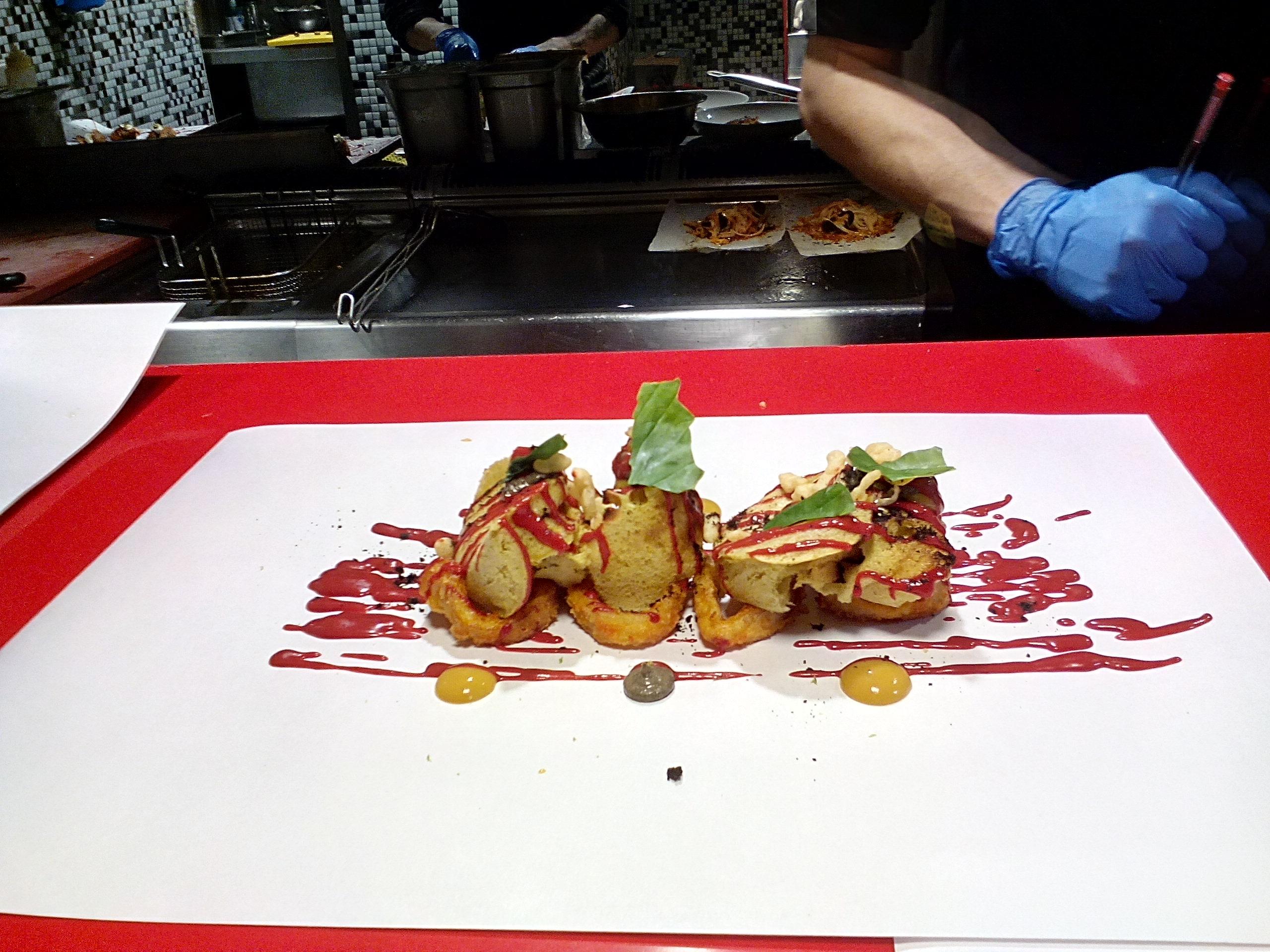 Restaurante en Madrid Bocata de calamares