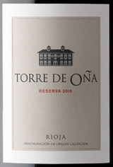 Etiqueta vino torre o%c3%b1a reserva 2010 col