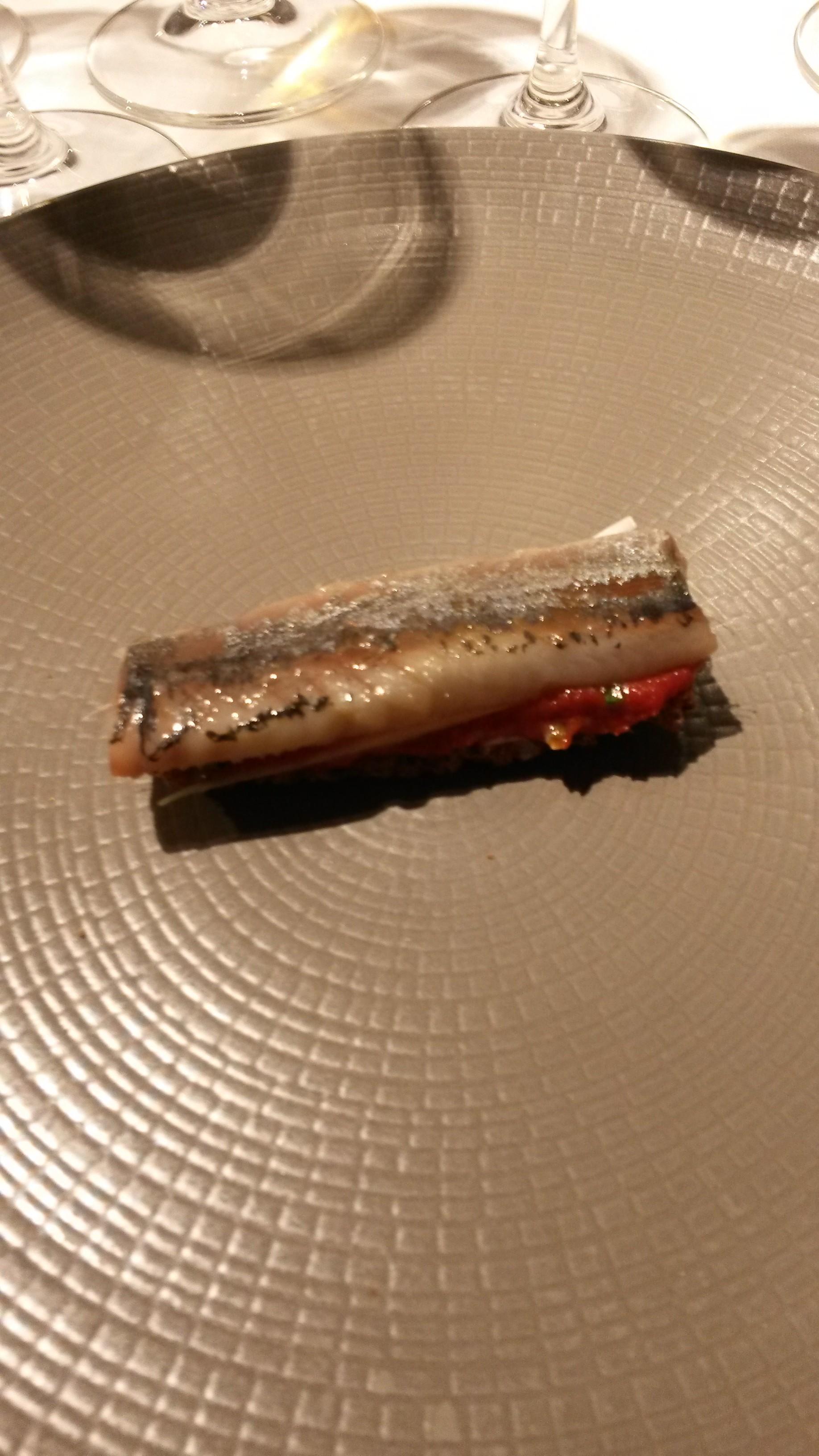 Restaurante en Madrid Tosta de sardina ahumada