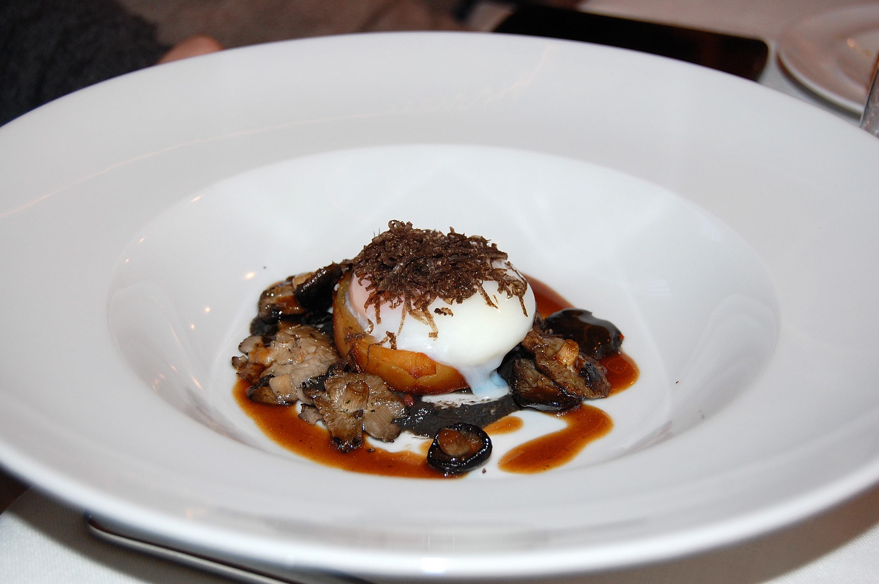 Restaurante Taberna de Lillas Pastia Setas, huevo, trufa,...mmmm