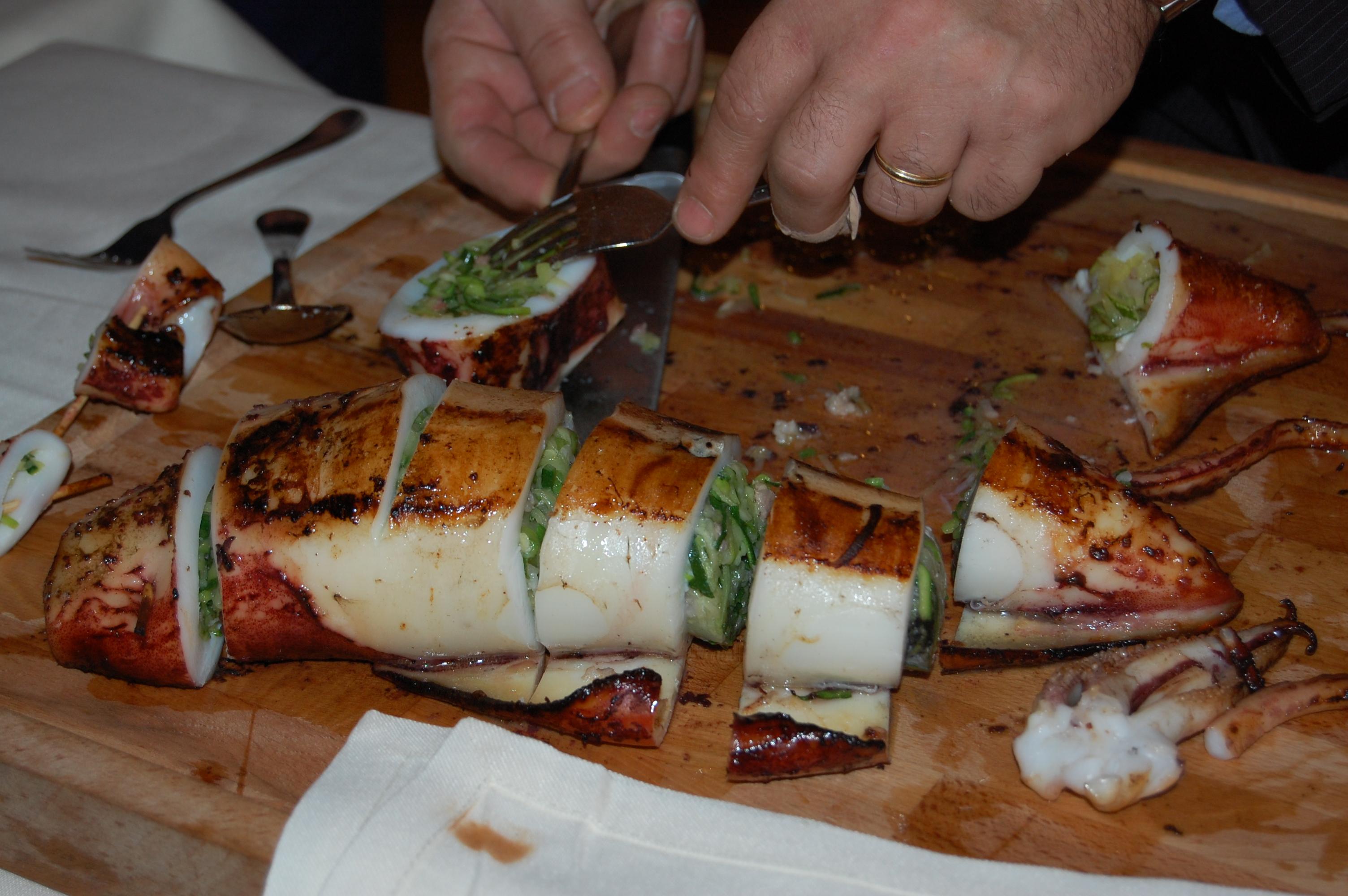 Restaurante en Huesca El gran calamar.