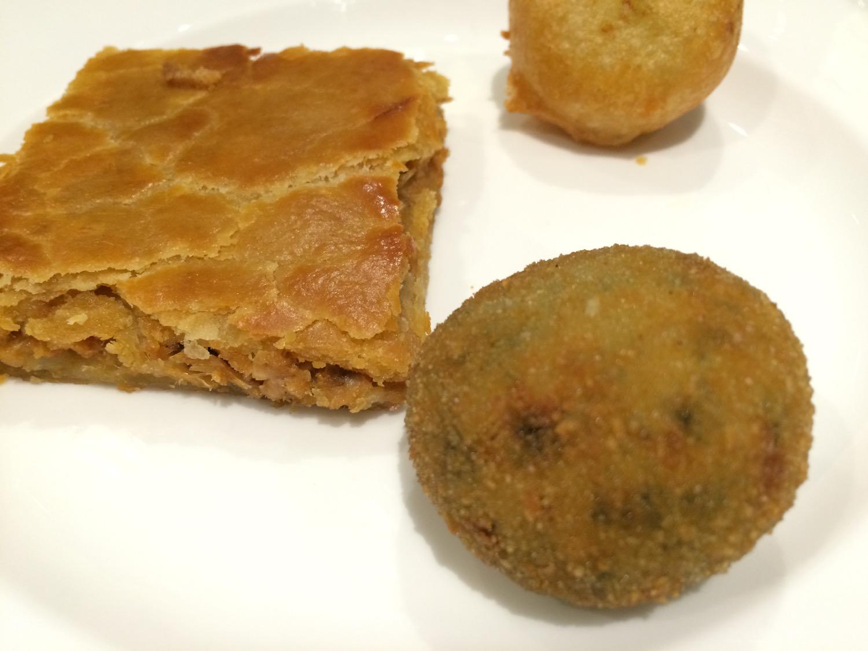 Restaurante Rías Gallegas Empanada gallega y croquetas