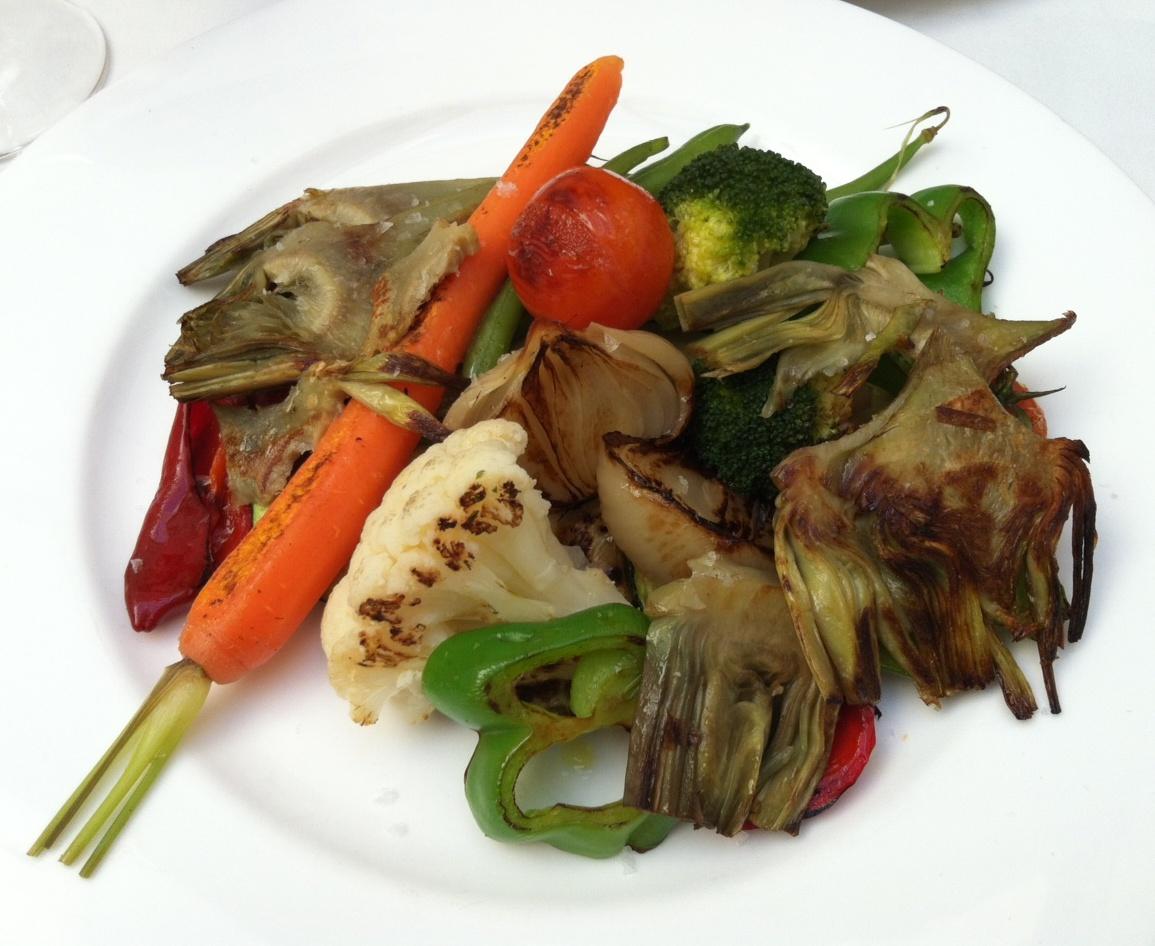 Ca Pepico Verduras de la Huerta a la Plancha