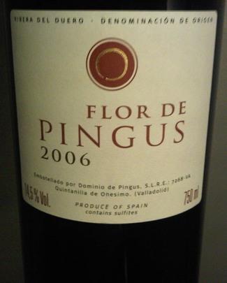 Flor de Pingus 2006