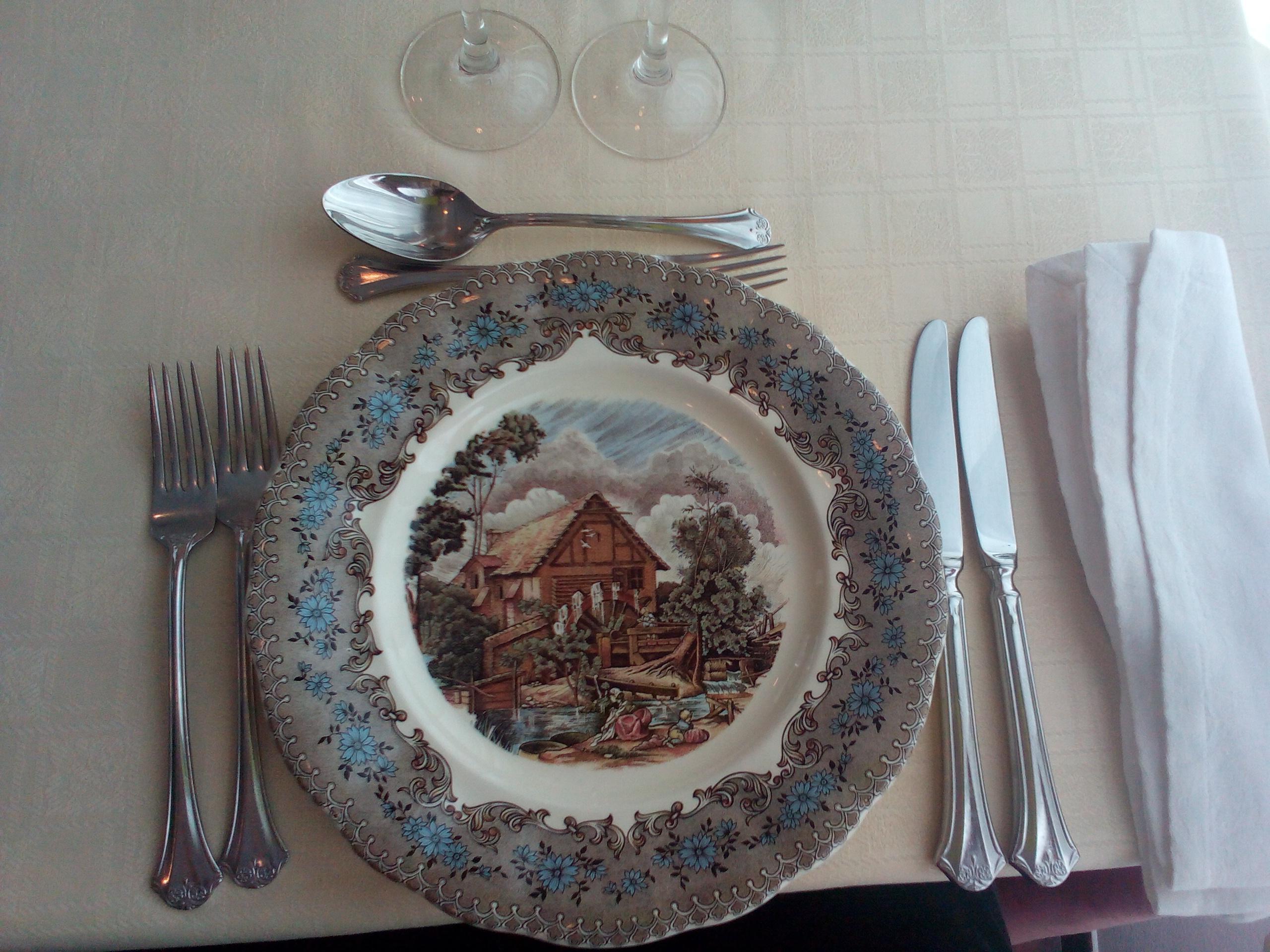 Restaurante Restaurante Burrull-Hostal del Fum Un plato bonito, bonito :-)