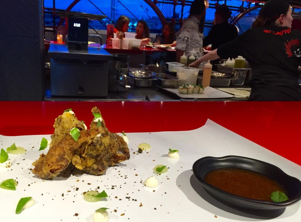 Restaurante en Madrid kentucky fried codorniz