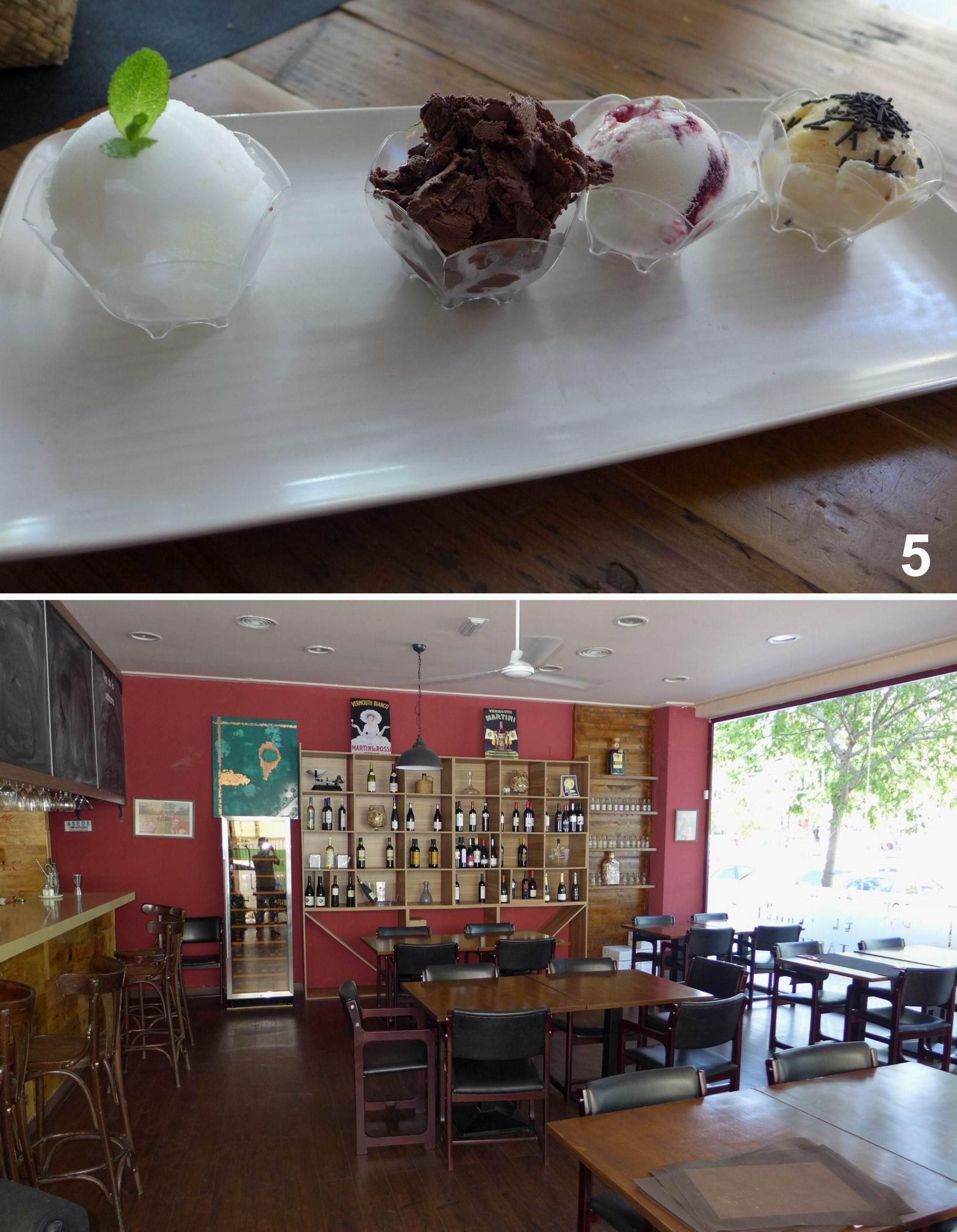 Restaurante El Vermut Taberna Bar Helados variados