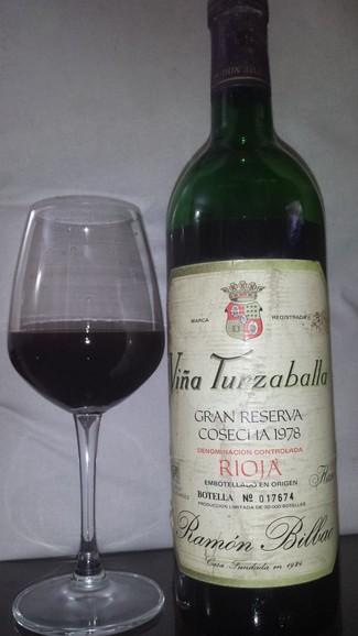 Viña Turzaballa Gran Reserva 1978