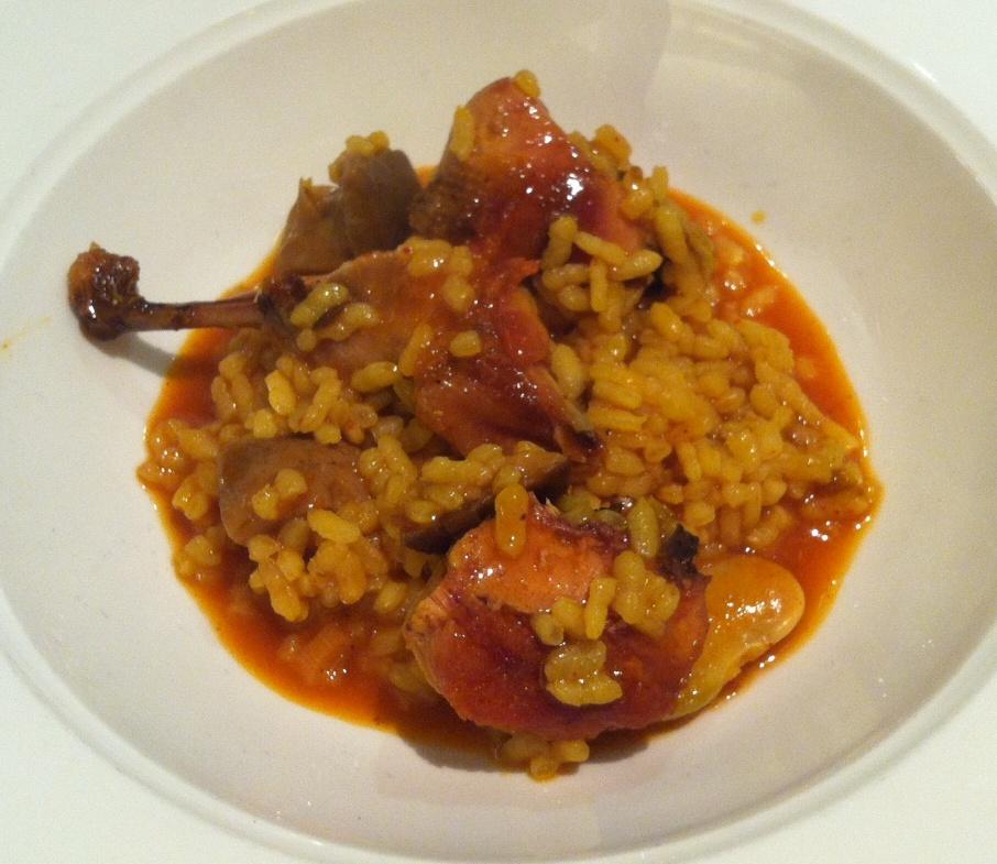 Restaurante El Celler del Tossal Arroz de Codornices y Setas
