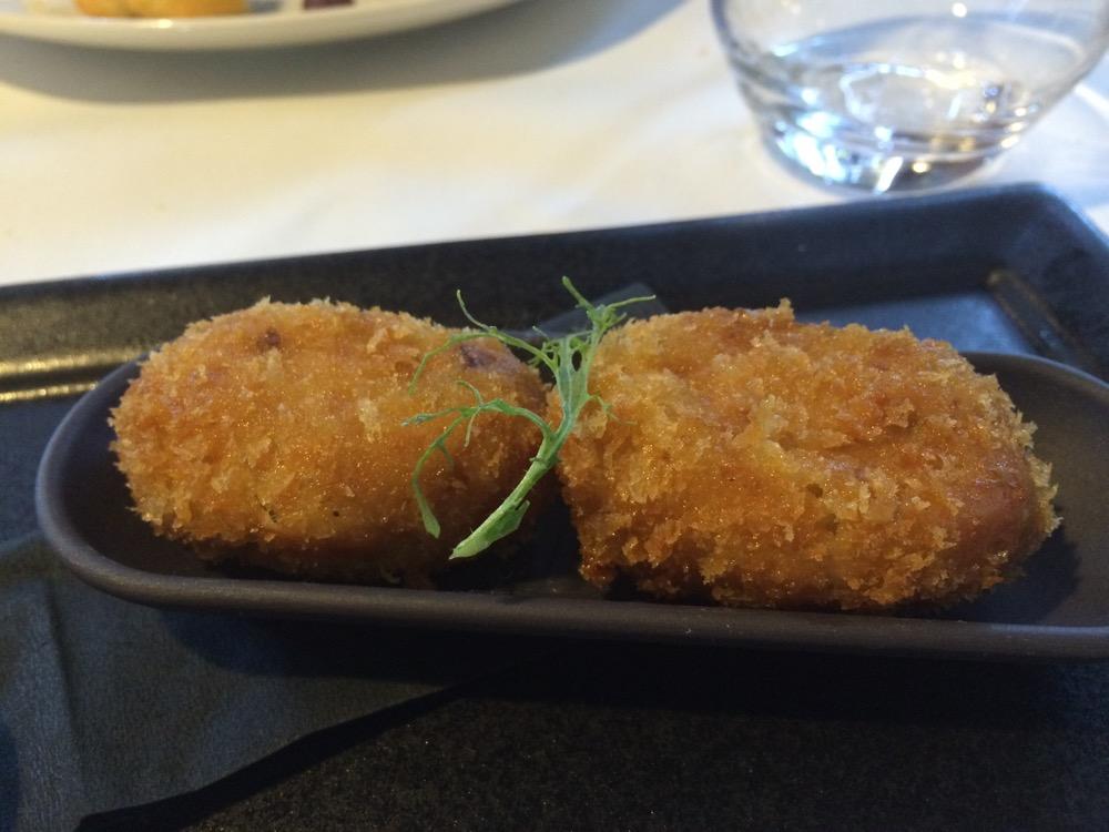 Restaurante Q'Tomas ? Croquetas de jamón ibérico