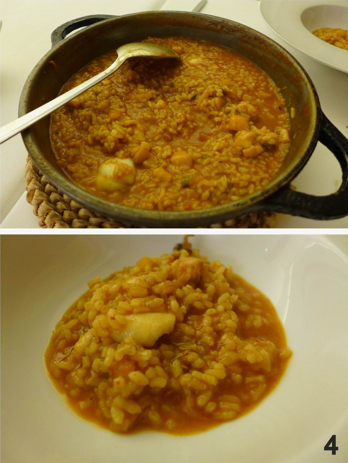 Restaurante El Celler del Tossal Arroz_rape_calabaza_Celler_Tossal