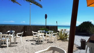 Vistas. Bar Mar Chica de Benicarló