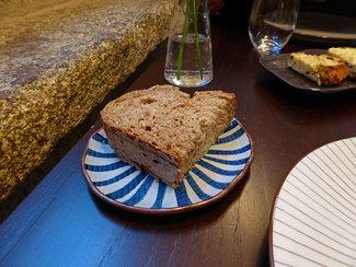 Pan de algas marinas