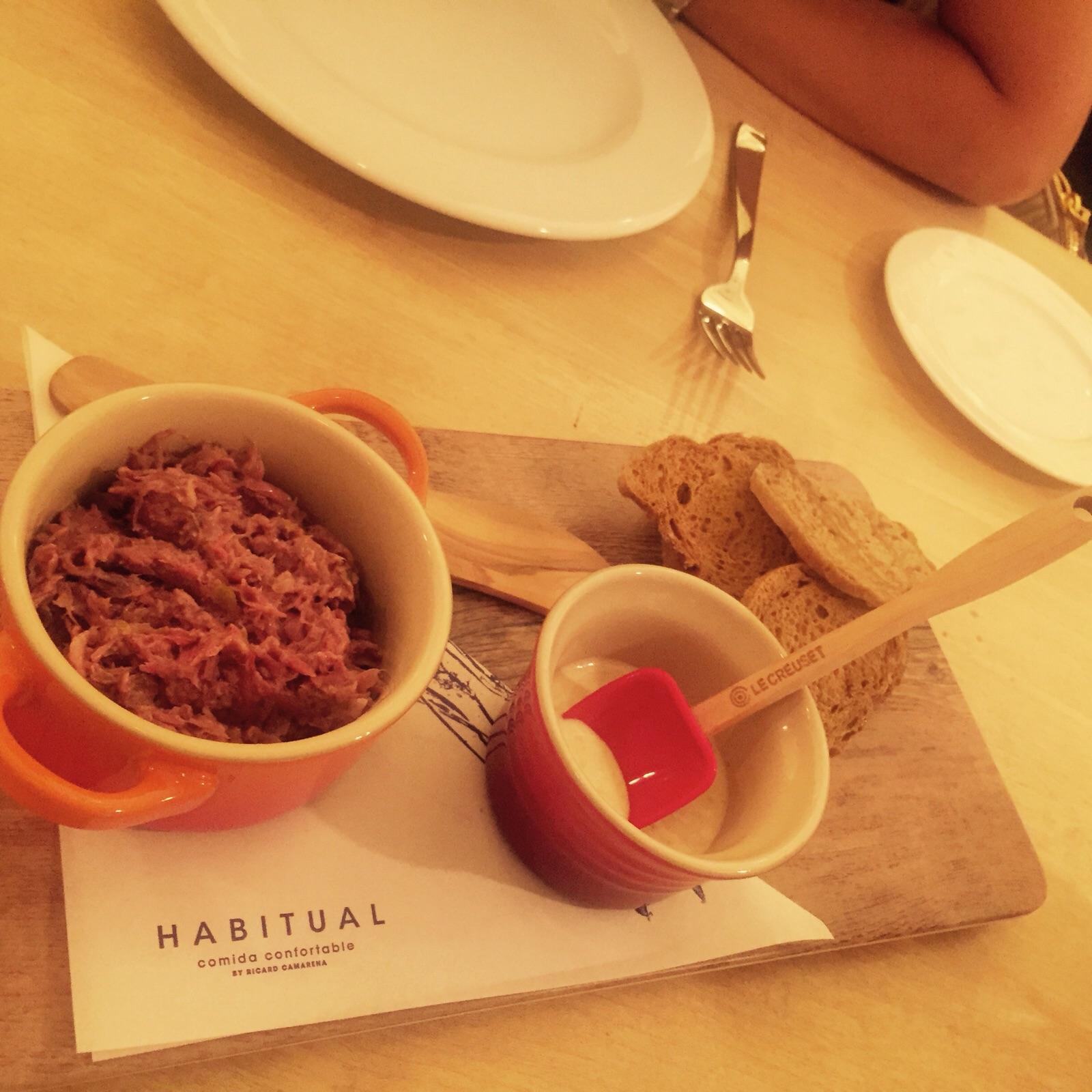 Restaurante Habitual rillete