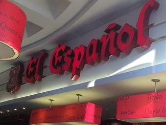 El Español, je,je...