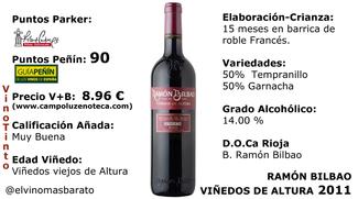 Ramon bilbao, viñedos de altura 2012