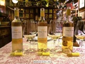 Príncipe de viana Chardonnay 2011 FB 4 años de evolución y nos sorprende gratamente.
