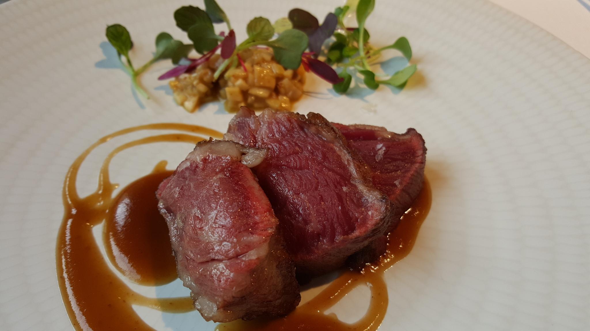 Restaurante en Daroca de Rioja Filete de cerdo ibérico