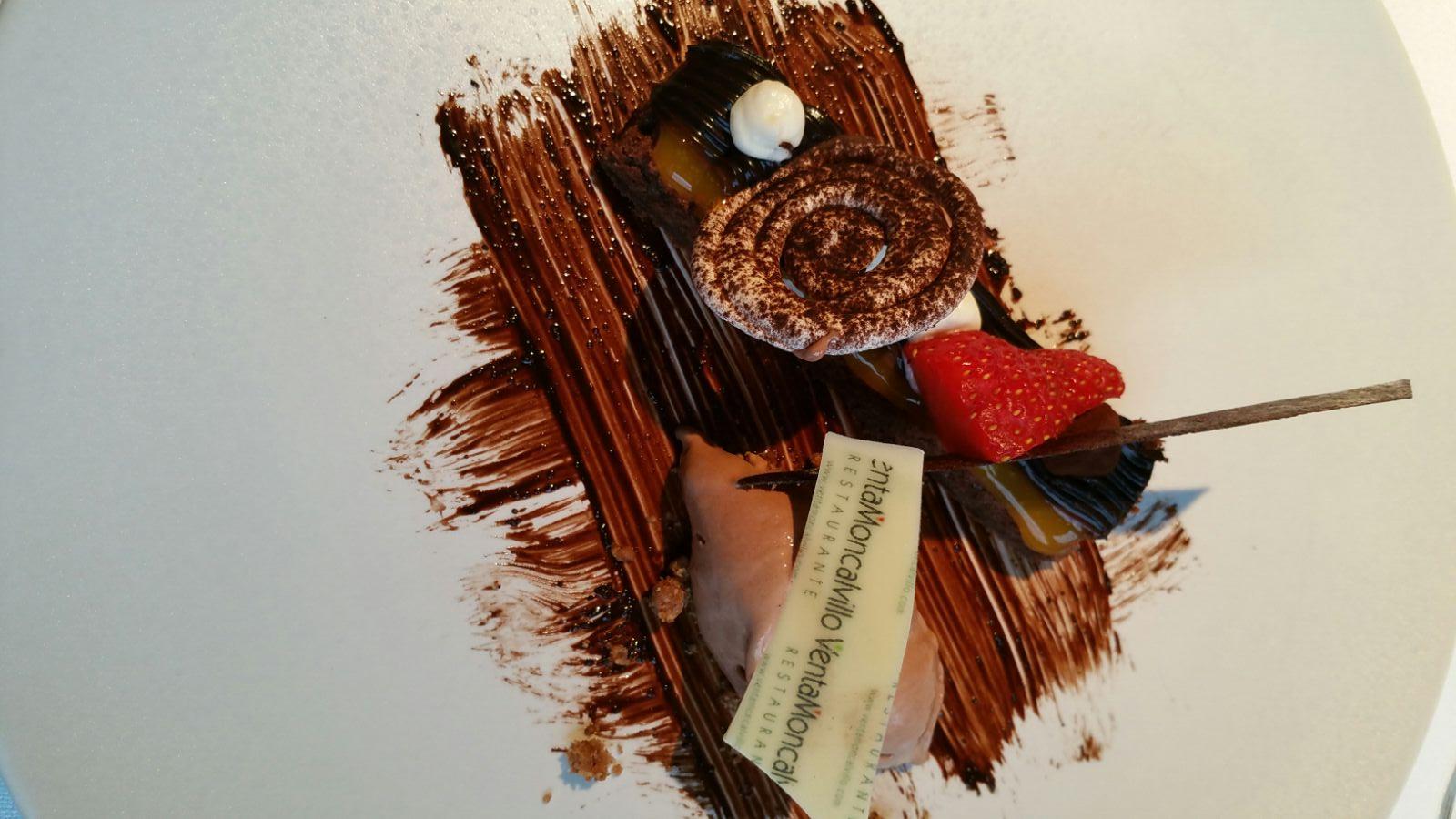 Venta Moncalvillo en Daroca de Rioja Chocolate en texturas 2015