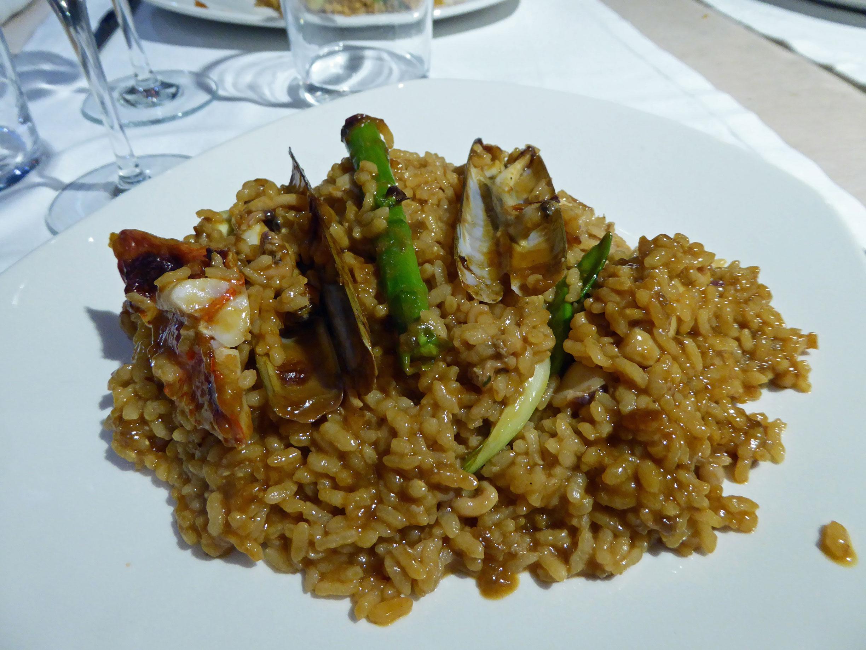 La mar Salada en Barcelona Arroz de señorito con pescado de lonja al minuto