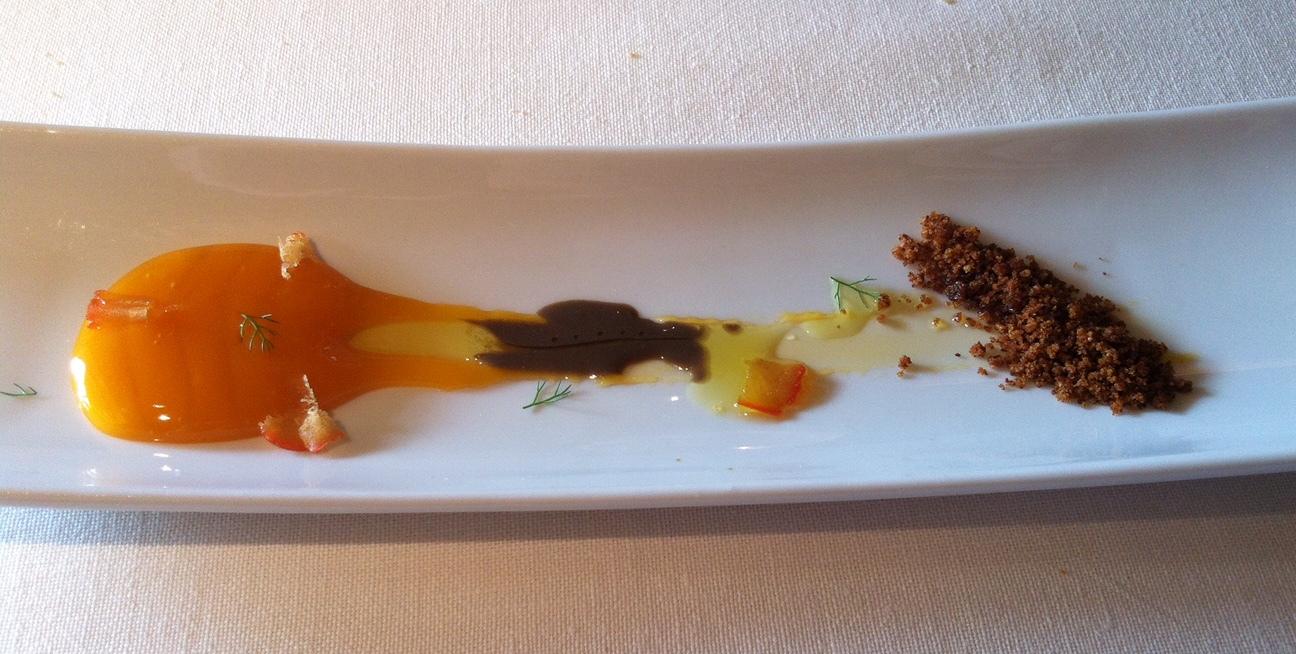 Restaurante L'Escaleta Yema de Huevo en Salazón