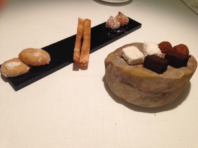 Restaurante en Almansa Petits fours