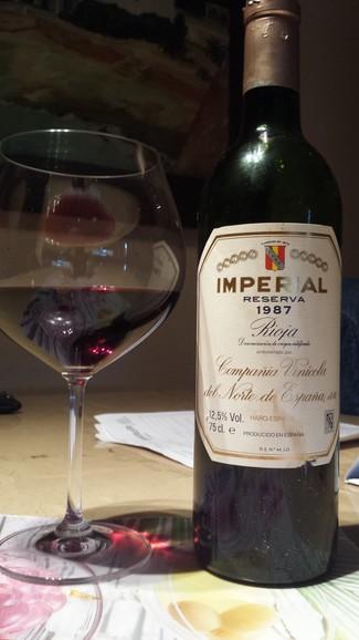 Imperial reserva 1987
