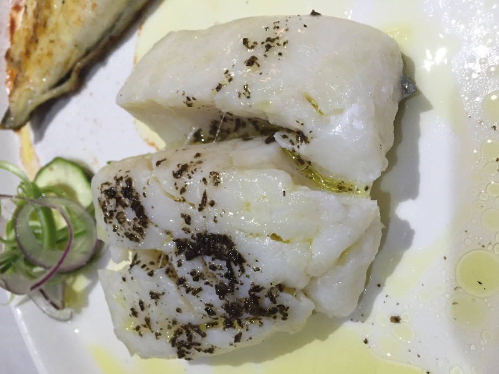 Restaurante en Valencia Bacalao con trufa