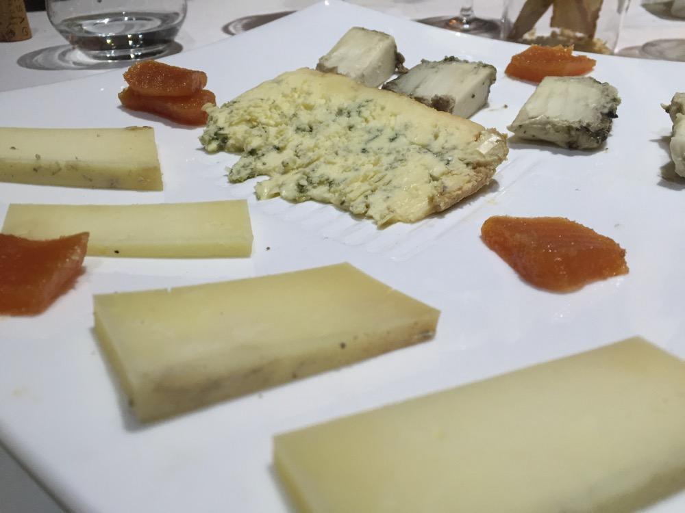 Pirineos Tabla de queso