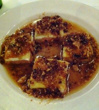 Milhojas de Manzana y Foie