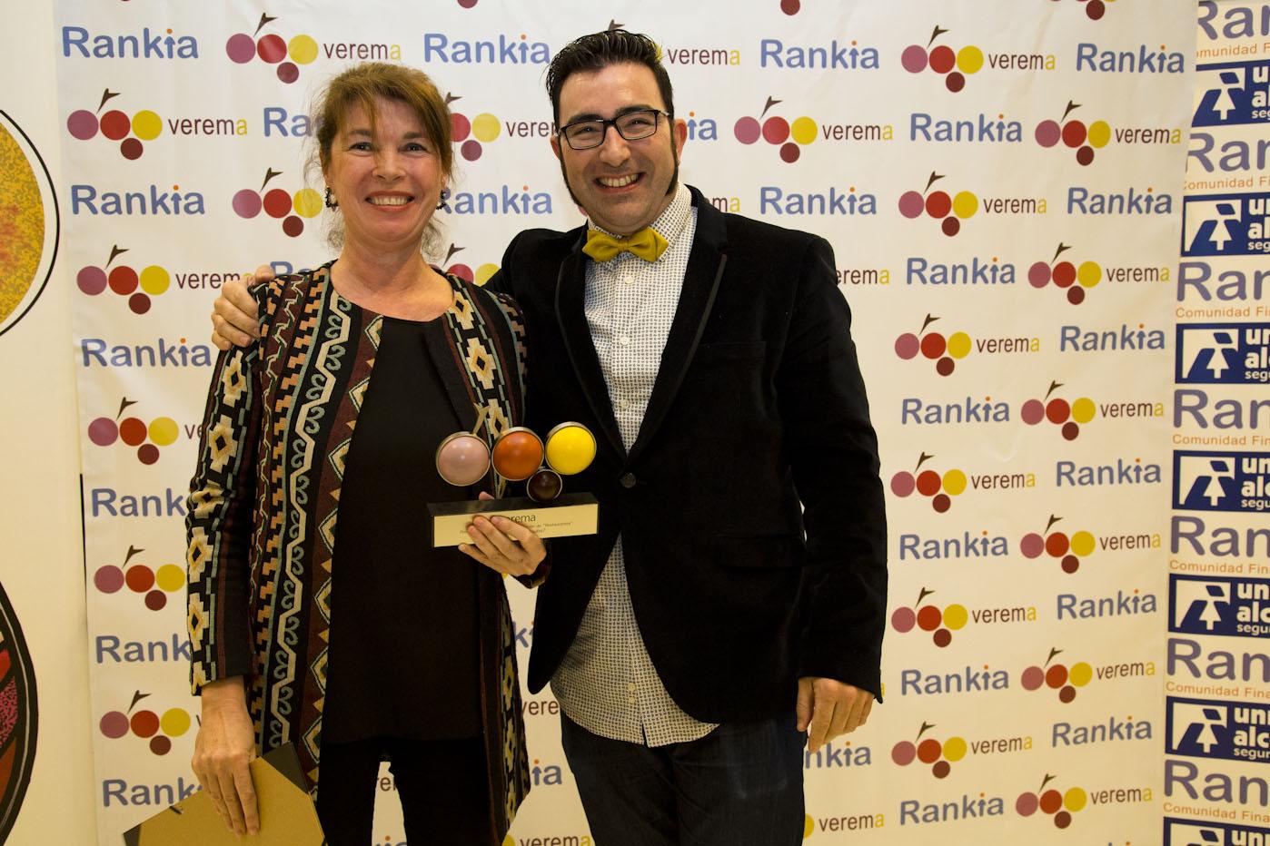 Entrega premios foreros verema valencia 2016 dani cervera