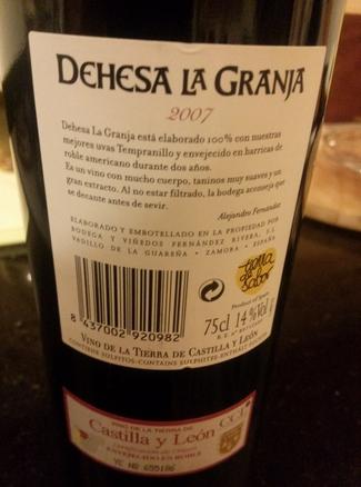 Dehesa La Granja 2007