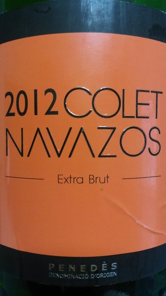 Colet Navazos Extra-Brut 2012