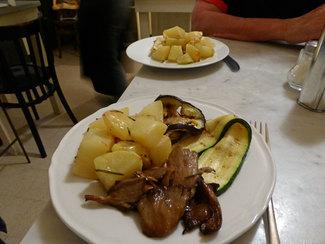 Patate e verdura
