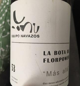 """La Bota de Florpower MMX 53 """"Más allá"""""""