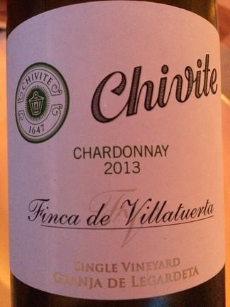 Chivite Finca Villatuerta Chardonay 2013