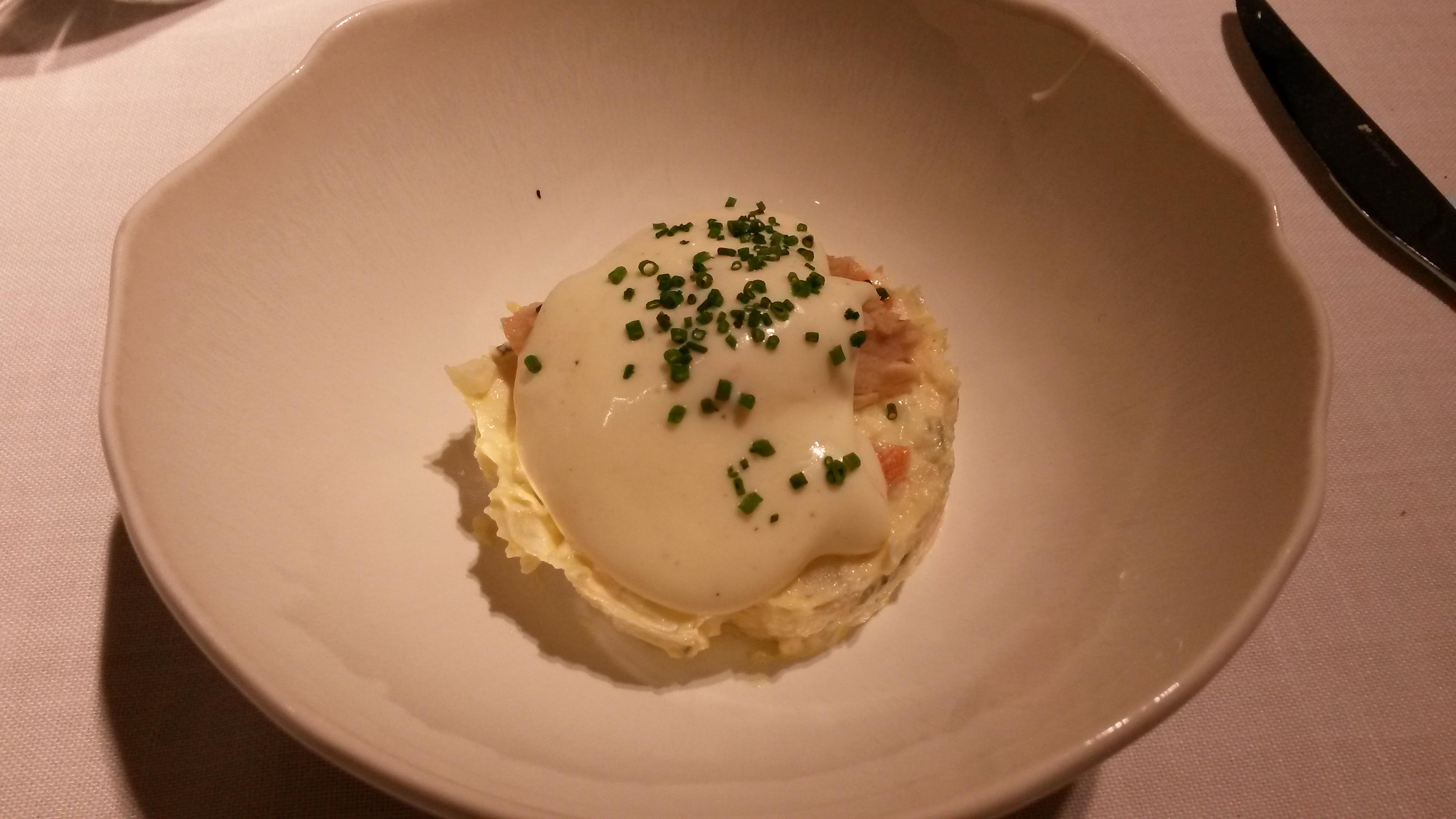 Restaurante Alabaster Ensaladilla con ventresca de bonito