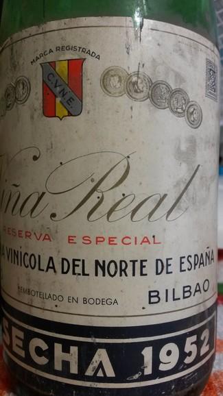 Viña Real Reserva Especial Cosecha 1952