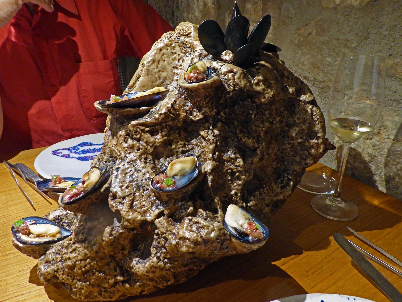 Estimar en Barcelona Musclos en vinagreta confitats